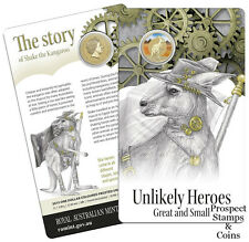 2015 Unlikely Heroes Great and Small - Shake the Kangaroo - Australian UNC coin