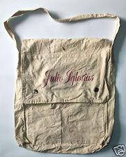 JULIO IGLESIAS vintage promo-only canvas tote bag
