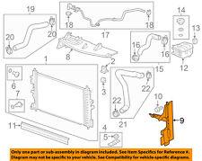 Buick GM OEM 12-17 Verano 2.4L-L4 Radiator-Side Baffle Right 22839787