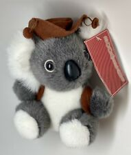 "Boomerang Australia Plush Benny Koala Bear Stuffed Animal Plush Toy 5"""