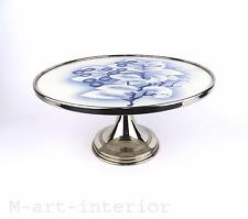 alte Keramik Tortenplatte Kuchenplatte  20er 30er Jahre Spritzdekor Cake Plate