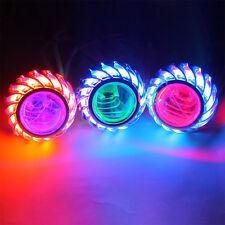 Motobike 8000K Devil Single Angel Eye Light Headlight Lamp High/Low Beam Bulbs
