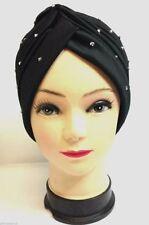 Cappelli da donna nero in poliestere