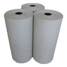 3 Rollen Schrenzpapier - 50 cm x 250 lfm 10 kg 80g/m² je Rolle Packpapier