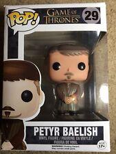 Funko Pop Vinyl Game of Thrones Littlefinger Petyr Baelish #29 NEW VAULTED
