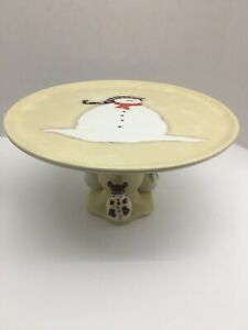 "Oneida ""Snowmates""  Pedestal Cake Plate/Stand"