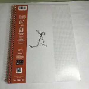 Whitelines Paper Notebook