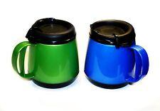 2 Foam Insulated 20oz Wide Body Thermoserv Mugs Blue Green Thermo Serv