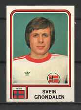 Decal/Sticker - Panini Argentina 1978 Svein Grøndalen No.372