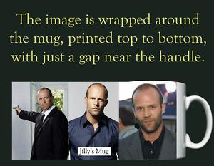 Jason Statham  - Personalised Mug / Cup