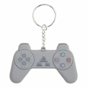 PlayStation Controller Rubber Keyring Keychain - SONY Video Games