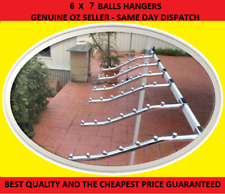6 Waterfall Garment clothing Hanger Rack 7 Bead for Market Stall Gazebo Marquee