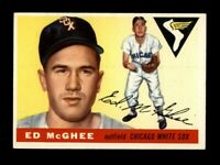1955 Topps Baseball #32 Ed McGhee (White Sox) NM