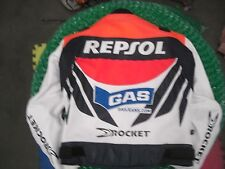 Repsol Honda Gas jeans Joe Rocket leather jacket 48 CBR1000RR CBR600RR Hayden 69