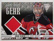 2012-13 Panini Titanium Johan Hedberg Jersey Card
