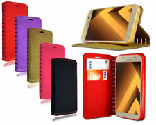 Fundas y carcasas Para Samsung Galaxy A3 de piel para teléfonos móviles y PDAs Samsung