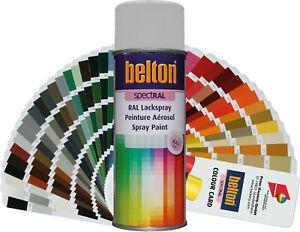 Sprühlack Belton RAL Spray 400ml glänzend Buntlack Lackspray Sprühdose Spraydose