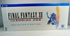 Final Fantasy XII: The Zodiac Age Collectors Edition (  PS4, 2017 ) New sealed !