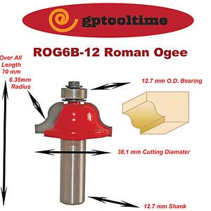 Router Bit  TCT ROMAN OGEE  RB-ROG6B-12