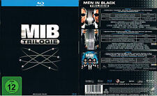 MEN IN BLACK 1 2 3 --- Blu-ray --- 3-Disc Boxset --- die komplette Trilogie ---