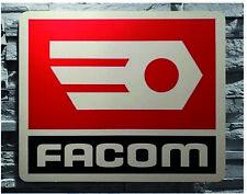 Enseigne Logo Décoration Garage Outils FACOM  (50 cm x 40 cm)
