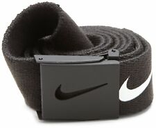 NIKE WEB Tech Essentials Golf Belt Black
