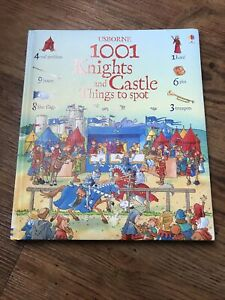 1001 Knights and Castle Things to Spot by Hazel Maskell (Hardback, 2010)