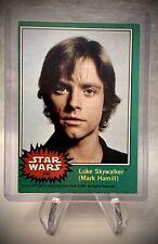1977 STAR WARS - Luke Skywalker RC (Mark Hamill) - Portrait Card
