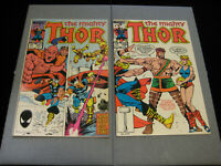 The Mighty THOR #356 And #357 (1985, Marvel)