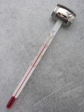 thermometre à vin embout en métal argenté