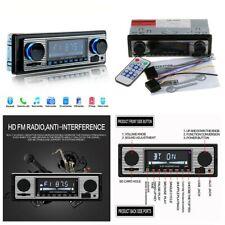 Car Stereo Radio Bluetooth In-dash Head Unit Player FM MP3/USB/SD/AUX for iPod