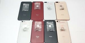 iPhone 8 8 Plus Replacement Back Glass Full Housing Frame Battery Door Cover lot
