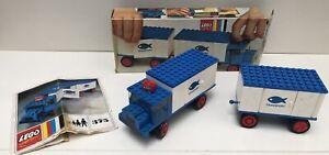 Camion & remorque frigorifique transport Poissons - LEGO System 375 - 1971 - TBE