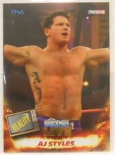 2013 TNA Impact Wrestling Live AJ Styles SP Gold Insert Card # 30 / 50