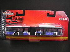 MAJORETTE 1:110 MAN LION´S CITY G BUS Metal Diecast model - #2417