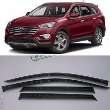 For Hyundai Grand Santa Fe 2013-2017 Window Visors Rain Guard Vent Deflectors