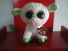 Ty Beanie Boos LALA the sheep. 6 inch NWMT. In stock now.