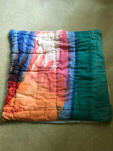 URBAN OUTFITTERS BEDDING PILLOW SHAM EURO ABSTRACT MULTI COLOR HOME LOT OF 3