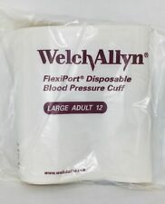 Welch Allyn SOFT-12-1HP Disposable Cuff, Soft, Large Adult - Box of 20