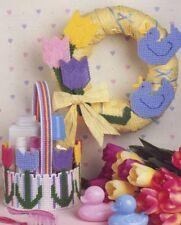Tulip Ensemble Basket Duck Wreath Plastic Canvas Pattern - 30 Days To Shop & Pay