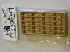 Tichy Train Group #8175 HO Burlap Sacks pkg(64; Unpainted Plastic)