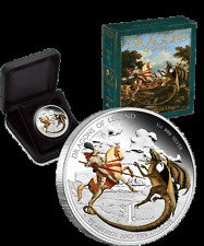2012 $1 Dragons of Legend – St George and The Dragon