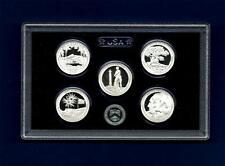 2013 SILVER PROOF QUARTER SET-Five Coins-No Box/COA