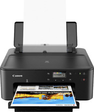 Canon PIXMA TS705 Tintenstrahldrucker A4 LAN WLAN Duplex LCD-Display Drucker qj