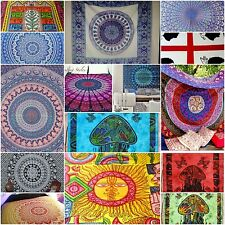 Sale Assorted 10pc Hippy Mandala Psychedelic QUEEN Tapestry Closet Wall Decor