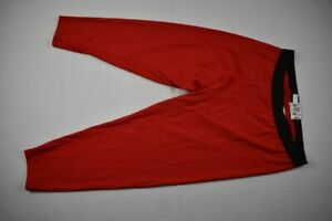 Under Armour Compression Pants Men's Red Nylon NEW 2XL