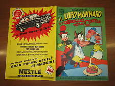 WALT DISNEY ALBO D'ORO N°19 IL LUPO MANNARO E L'ORGOGLIO DELLA CONTEA 13-5-1956