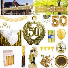 6m GOLDENE KREPPGIRLANDE Geburtstag Silvester Hochzeit Party Girlande Deko 09409