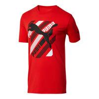 Puma Cat Brand Men's Graphic Tee size M  Red