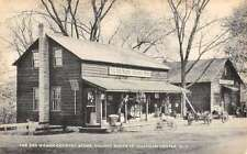 Chatham Center New York Red Wagon Country Store Antique Postcard K27620